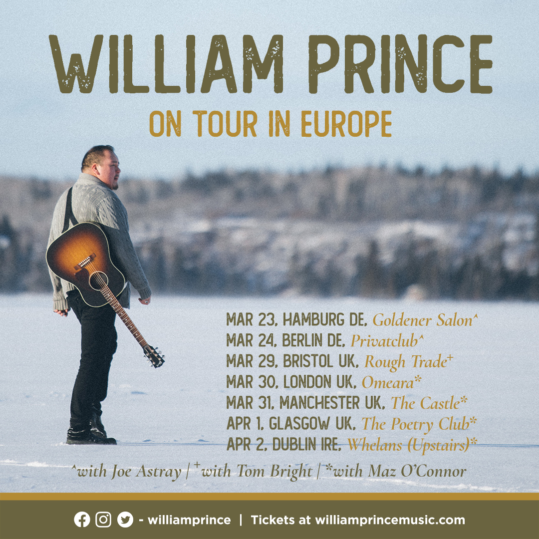 Glasgow (opening for William Prince)