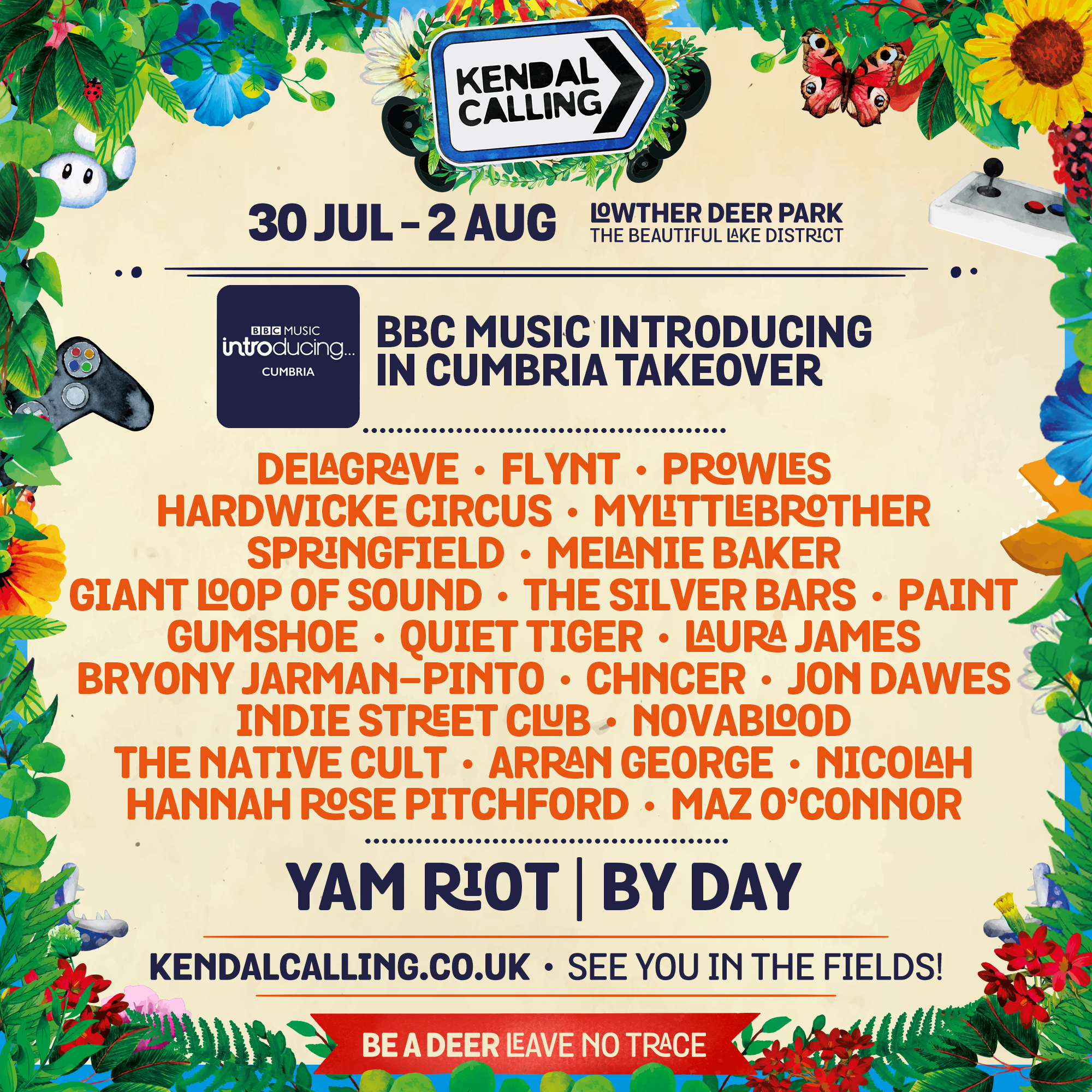 Kendal Calling (Yam Riot stage BBC Music Introducing takeover)