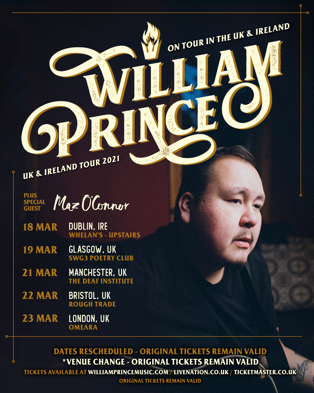 Bristol (opening for William Prince)