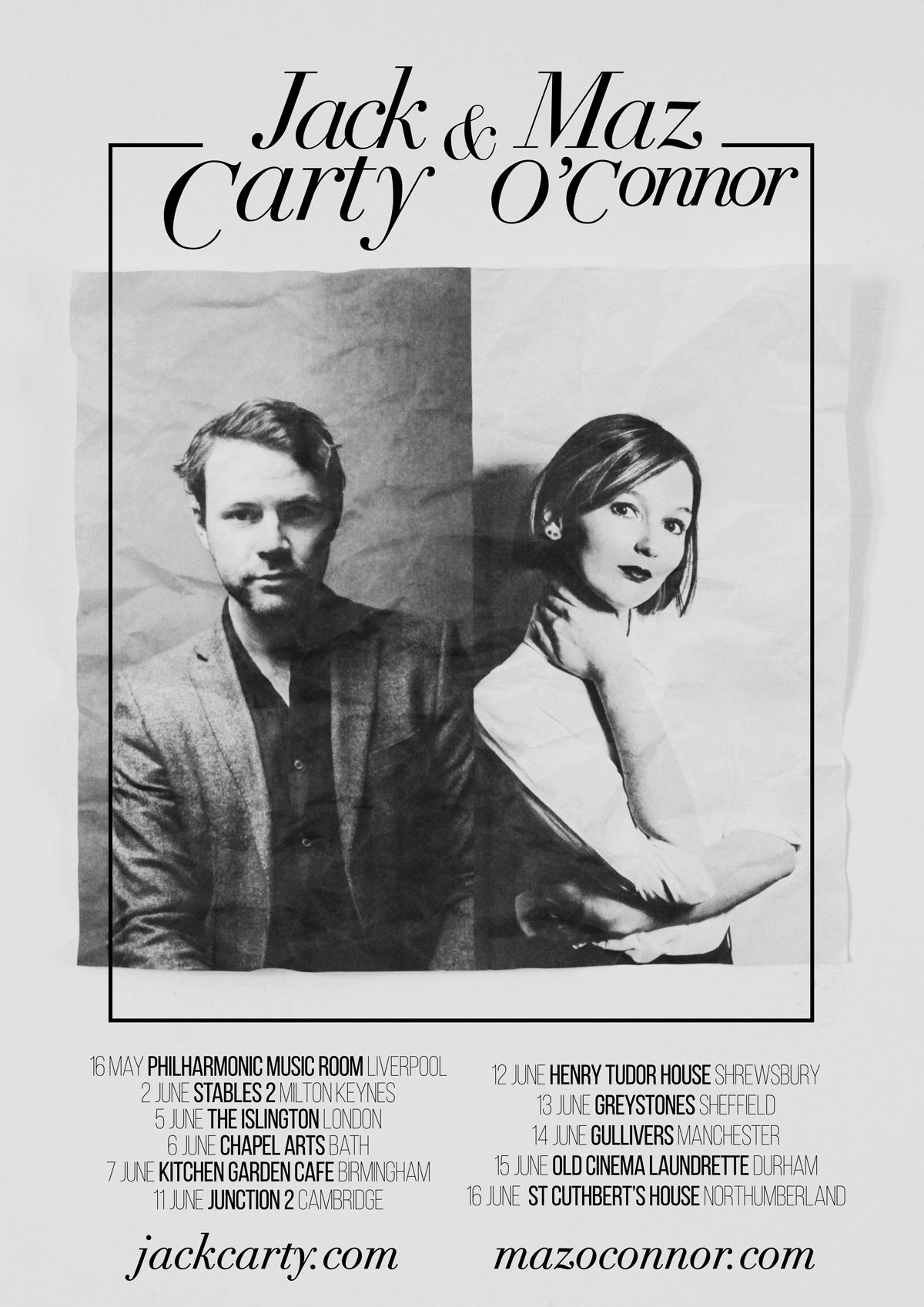 Maz O'Connor + Jack Carty: Chapel Arts, BATH